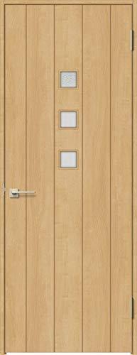 ラシッサS 標準ドア ASTH-LGE 錠付き 0920 W:868mm × H:2,023mm 吊元:右吊元 本体色/枠色:クリエペール(PP) 枠種類:ノンケーシング95(壁厚:64-75) 沓摺:なし 把手:サークルB 鍵種類:丸型簡易錠 LIXIL