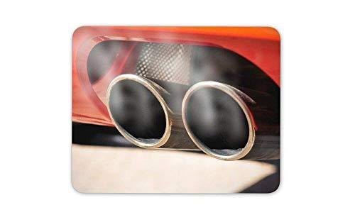 Mauspad Super Sport Auspuff Auto Mauspad Pad - Auto Bruder Sohn Geschenk Mousepad für Laptop Desktop Computer Bürobedarf Mauspad