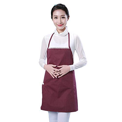 LONMEI Strahlung Schutz Kleidung, Strahlung Schutz SchüRze, Strahlung Schutz Mutterschaft Kleidung, Jujube rot/Einheitsgröße