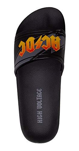 AC/DC Rider Gants de bain pour homme 41 Noir