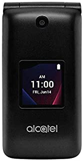 Alcatel Go Flip V 4044V Verizon Flip Phone - Black