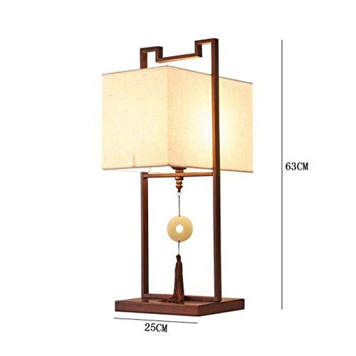 JU Gyy Chic Moderne minimalistische Chinese kunst luxe villa hotel ijzer kunst tafellamp woonkamer studie kantoor decoratie verlichting tafellamp E27 Home Upscale tafellamp decoratieve verlichting