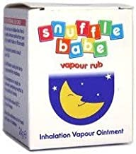 THREE PACKS of Snuffle Babe Vapour Rub