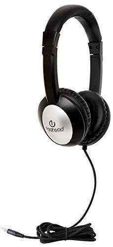 Egghead Deluxe Heavy-Duty School Headphones Pack of 10
