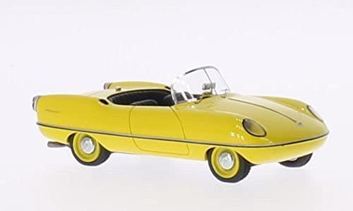 Buckle Dart (A), gelb, 1957, Modellauto, Fertigmodell, AutoCult 1 43