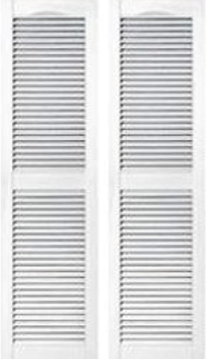 ブルーベル心配スティック窓飾りシャッター ホワイト 長さ1092mm COL1243 001
