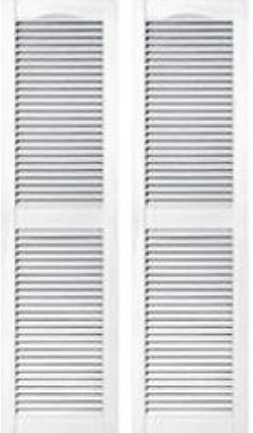 飲み込む馬鹿げた小川窓飾りシャッター ホワイト 長さ1321mm COL1252 001