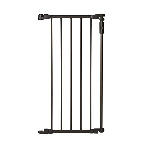 "Toddleroo by North States 6-Bar Extension for Deluxe Décor Gate: Adjust your gate to fit your space. Add up to six extensions. No tools required. (Adds 15"" Width, Matte Bronze)"