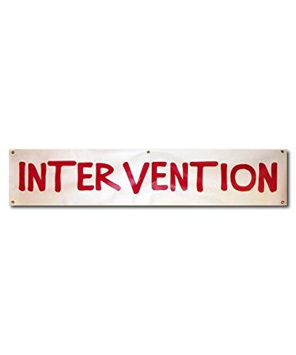 Cool TV Props How I Met Your Mother Intervention Banner HIMYM Hanging Vinyl Banner � 6� x 15� (1.8 m x 38cm)