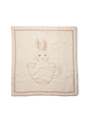 Barefoot Dreams CozyChicTeacup Bunny Blanket, BabyBlanket, Dusty Rose