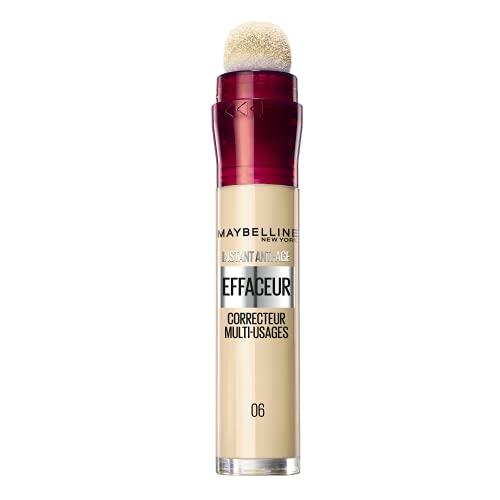 Maybelline New York – Anti-occhiaie/correttore liquido – Instant Anti-Age – 06 Giallo Neutralizzante – 6,8 ml