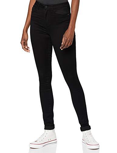 ONLY Damen ONLROYAL HIGH SK PIM600 Tall Jeans, Black Denim, M