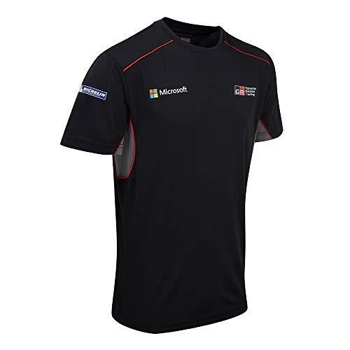 Toyota Gazoo Racing WRC Rally de Equipo Camiseta para Hombre Parte Superior XS S M L XL XXL XXXL, Blacks