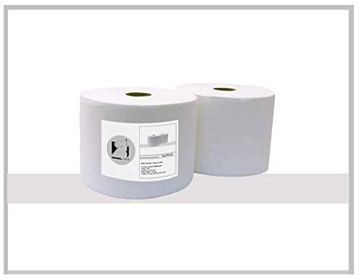 Bobina papel Industrial 100% Celulosa. 2 capas laminado, 280