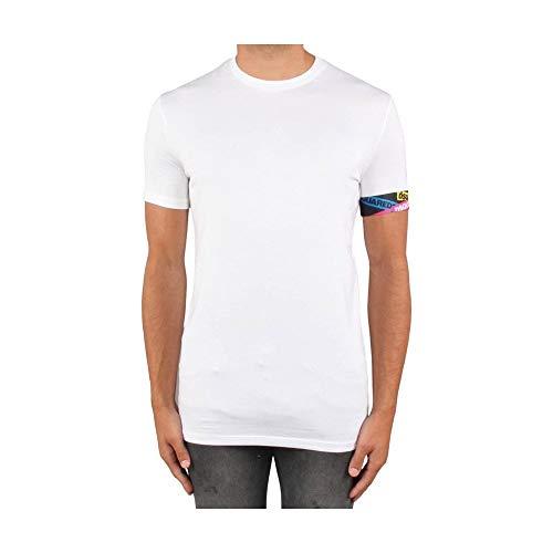 DSQUARED2 Ondergoed Eenvoudig Wit T-shirt
