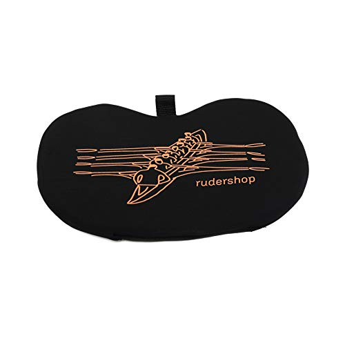 JLSPORTs ultraleichtes Rudersitzkissen für Ruderboote, WaterRower und andere Rudergeräte - Memory Schaumstoff Sitzkissen fürs Rudern - Rutschfestes, schwimmendes Ruderkissen