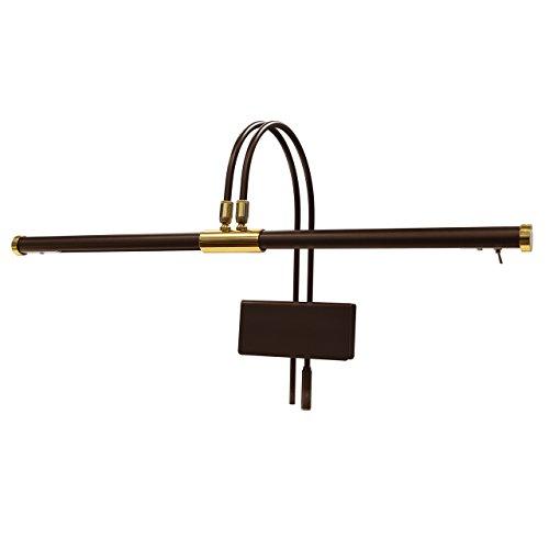 Cocoweb GPLED22MBD LED Grand Piano Lamp, Mahogany Bronze