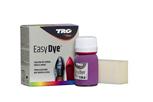 TRG Easy Dye for Leather and Canvas Shoes and Accessories (182 - Deep purple)