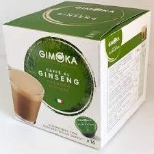 Gimoka 133612 Set di 96 Capsule Ginseng Compatibili Dolce Gusto, 16 x 6 cm