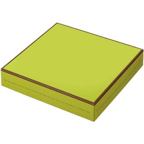 株式会社東光 PAOTOKO PAO ドゥミセック10個箱 ピスタチオグリーン 150個 【高さ45mm菓子箱】BOX ボックス 箱 被せ蓋 焼菓子ケース 焼菓子 通年 使い捨て ギフト プレゼント テイクアウト 持ち帰り 収納ケース 贈答 RC26320