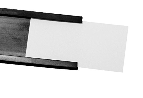 Bois d'écran et étiquettes pour profil C 25 mm