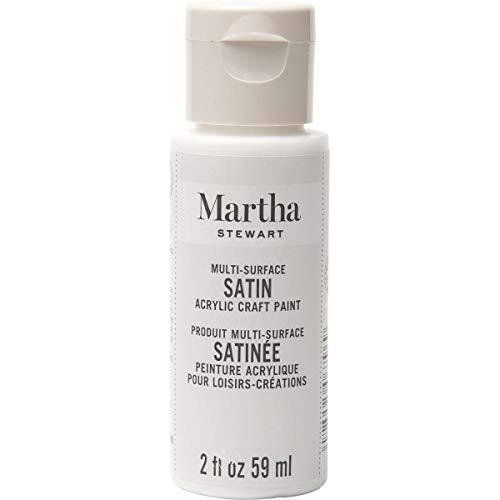 Martha Stewart Crafts Martha Stewart Multi-Surface Satin Acrylic Wedding Cake, 2 oz Paint, 2 Fl Oz