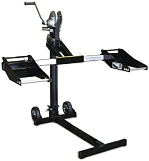 MoJack PRO - Residential Riding Lawn Mower Lift, 750lb Lifting Capacity, Fits Most Residential & Zero Turn Riding Lawn Mowers, Folds Flat for Easy Storage, Industry Leading Two-Year Warranty