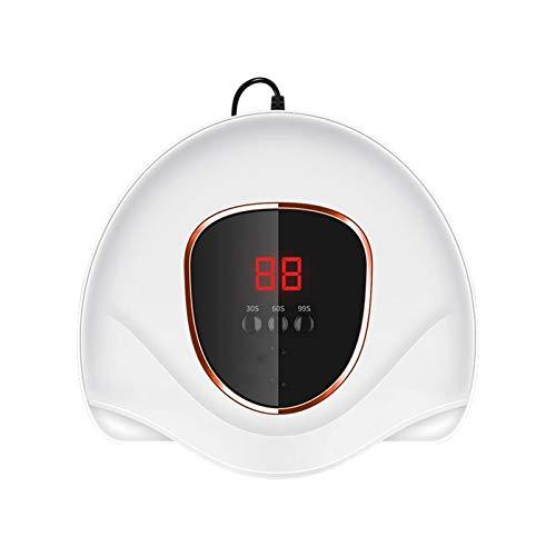 SFLRW Lámpara de uñas LED de gel, secador de uñas LED de 36W para polaco de gel con 3 ajustes de temporizador, sensor automático y pantalla táctil LCD, lámpara de curado de luz de gel para salón y uso
