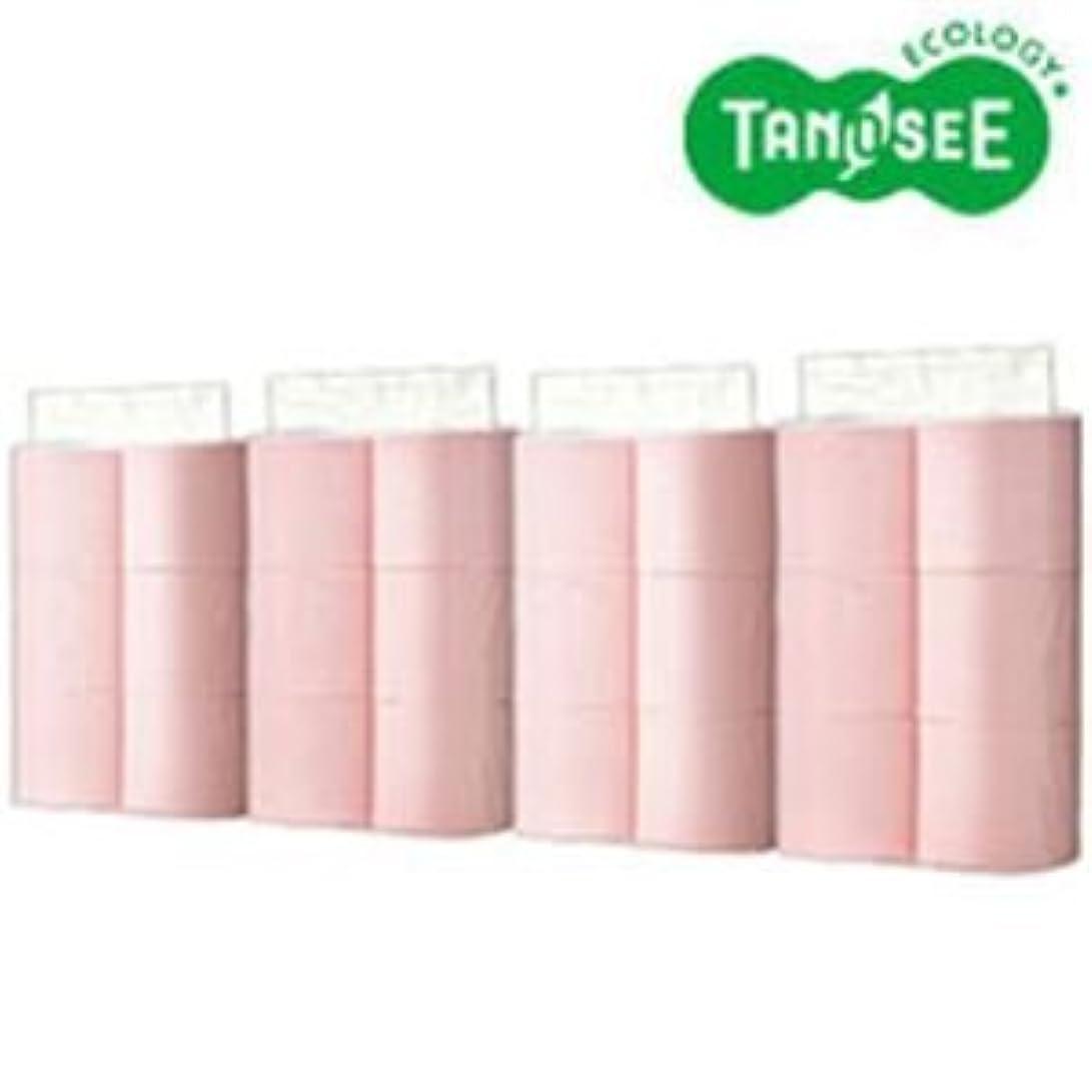 ベッツィトロットウッド交じる喜劇トイレットペーパー シングル 芯なしパック入 ピンク130m 24ロール(6ロール×4パック)