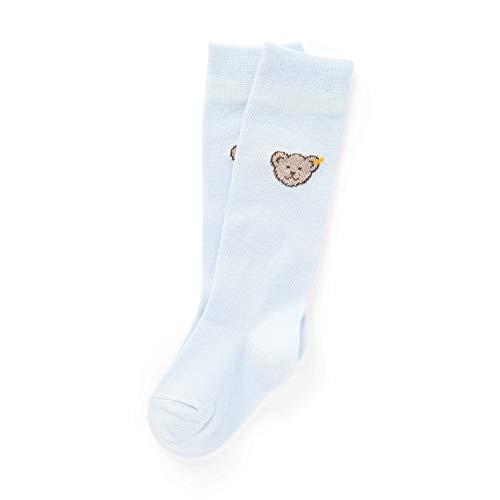 Steiff Unisex Baby Socken, Blau (Winter Sky 3023), 17-18 (Herstellergröße: 6-12 Monate )