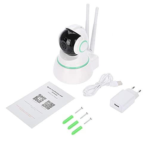 Cámara de Audio bidireccional del Monitor del bebé de la visión Nocturna del IR WiFi 1080P HD para el(European Standard (110-240V))