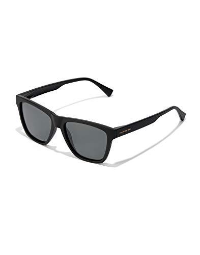 HAWKERS One LS Gafas, Negro polarizado, talla única Unisex-Adult