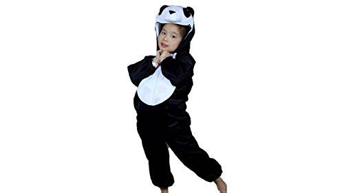 Matissa Niños Disfraces de Animales Niños Niñas Unisex Disfraces Cosplay Niños Onesie (Panda, L (para niños de 105 - 120 cm de Altura))