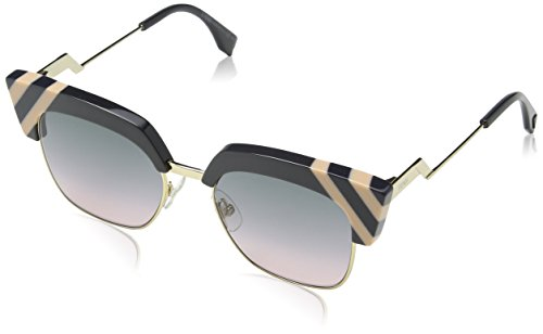 Fendi Womens Women's Ff 0241/S 50Mm Sunglasses, Grey Pink, 50-18-140