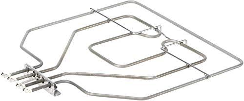 DREHFLEX - HZG490 - Oberhitze/Heizung/Heizelement - passend für diverse Bosch/Siemens/Neff/Constructa Herde/Backofen - passend für Teile-Nr. 00470845/470845 - E.G.O 20.41384.000 = 2041384000