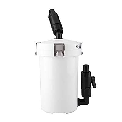 Aquarium Fish Tank External Canister Filter with Pump Table Mute Filters Bucket HW-602