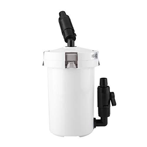 Filtro per Acquario,Filtro bomboletta Esterna per Acquario Fish Tank Secchiello per filtri Mute per Pompe(HW-602)