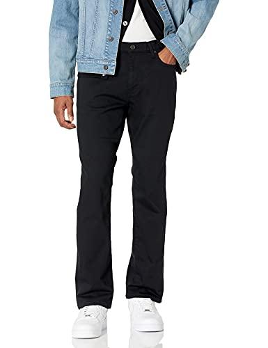 Amazon Essentials Slim-Fit Stretch Bootcut Jean, Noir, 31W x 29L