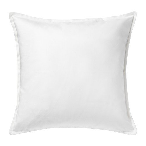 IKEA GURLI - Cushion cover, white - 50x50 cm