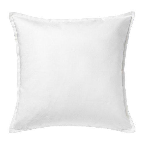 IKEA GURLI Kissenbezug in weiß; (50x50cm)