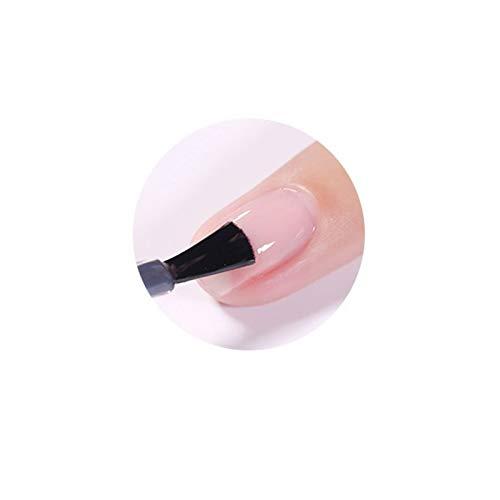 QQINGHAN Barnices de Polaco de Gel Transparente uñas híbridas para manicura 7.5ml de Esmalte de uñas de Gel (Color : Base)
