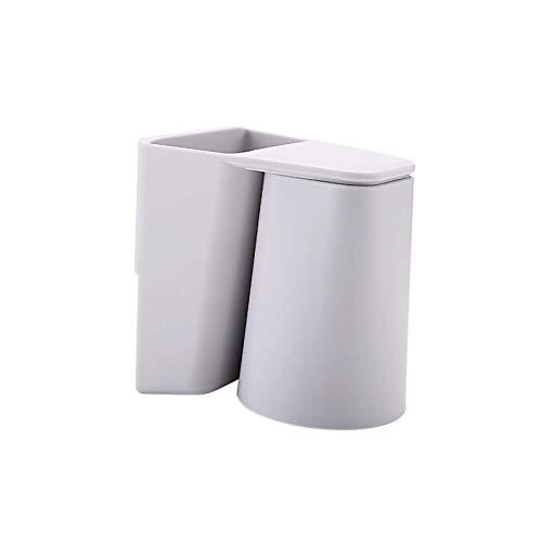 LEILEI Juego de Tazas de Enjuague bucal magnético Simple Estante de Dientes,Creativo y Elegante Rejilla de Inodoro de succión de Pared para el hogar Estante para Inodoro Cepillo de Dientes y Pasta
