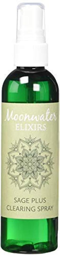 証言あいにく周囲Moonwater Elixirs ホワイトセージスプレーとスマッジスティッククレンジングキット 洗浄と浄化エネルギー用 (4オンス)