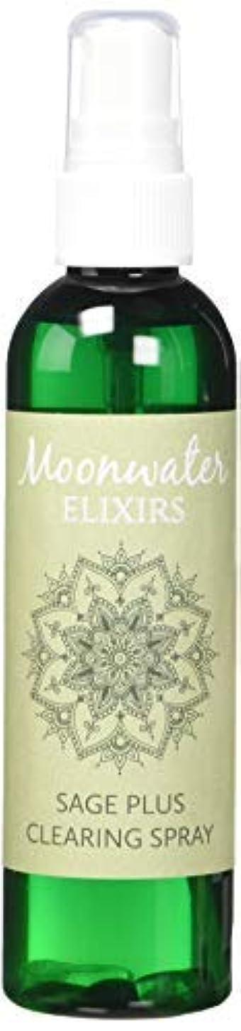 順番研究紳士Moonwater Elixirs ホワイトセージスプレーとスマッジスティッククレンジングキット 洗浄と浄化エネルギー用 (4オンス)