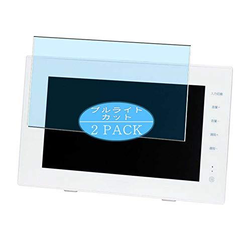 Vaxson Protector de pantalla anti luz azul, compatible con BLUEDOT BTV-WL900 9 pulgadas, protector de pantalla de bloqueo de luz azul [no vidrio templado]