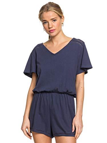 Roxy Damen Bali Free Love - Kurzärmliger Playsuit für Frauen Knit Dress, Mood Indigo, M