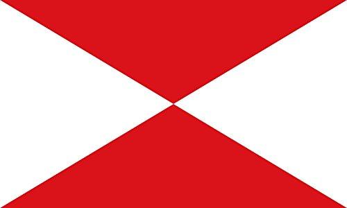magFlags Bandera Large Provincia Marítima de Vigo, España | Bandera Paisaje | 1.35m² | 90x150cm
