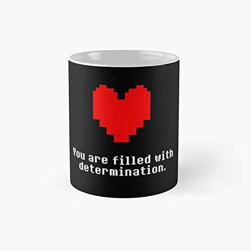 Undertale Iii - Taza clásica con el mejor regalo, tazas de café divertidas, 11 onzas