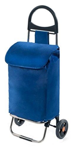 Einkaufshilfe Herkules Farbe Blau Grösse 37 Liter Inklusive Einer Faltbaren Einkaufstasche Gratis