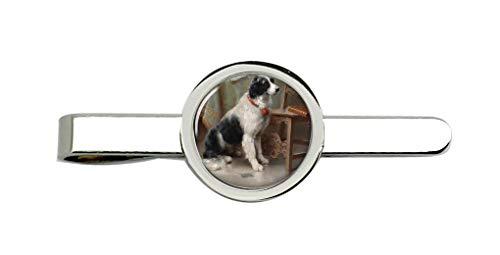 Giftshop UK der Liebling (Hund) von Carl Reichert Krawatte Clip